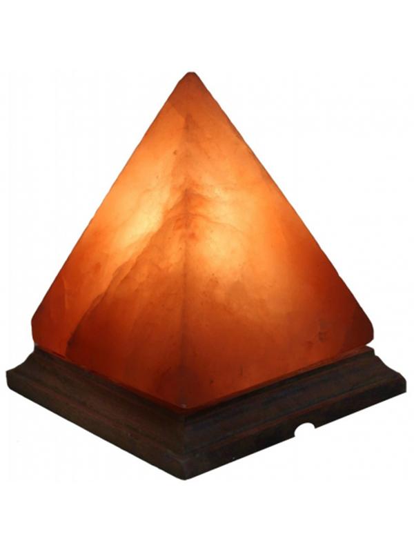 Lampada di sale rosa dell himalaya piramide magie di for Lampada sale himalaya