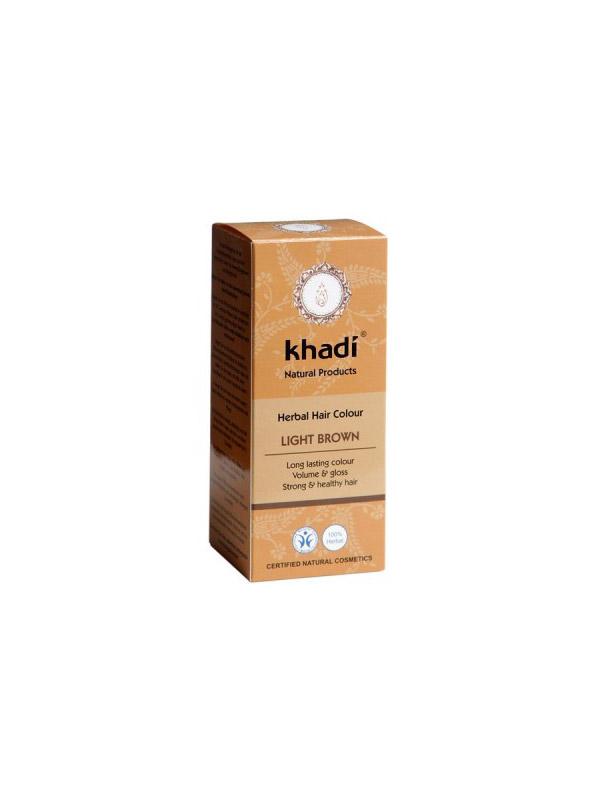 Khadi tinta vegetale per capelli col. Castano Chiaro ml. 100 9cd29213d6ff