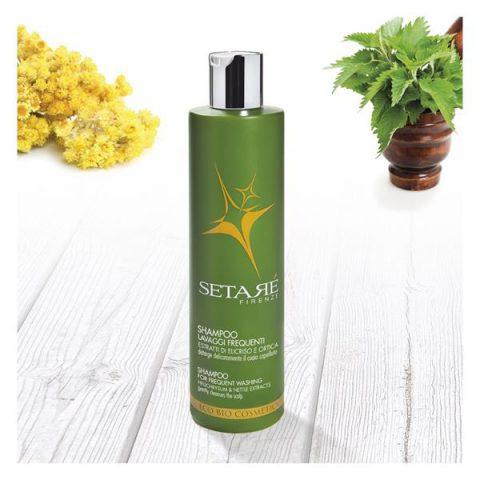 Setarè shampoo capelli lavaggi frequenti famiglia ml. 250