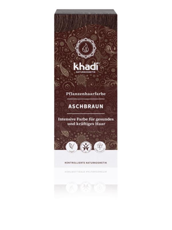 Khadi tinta vegetale per capelli col. Marrone cenere gr. 100 – NEW ... d3175dd578b6