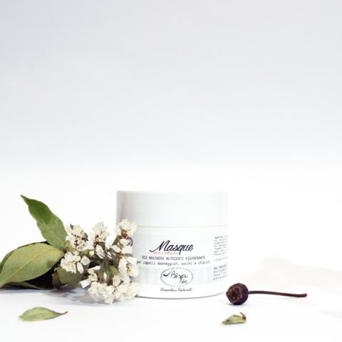 Bisoubio maschera capelli cocco e albicocca nutriente, rigenerante ml. 200